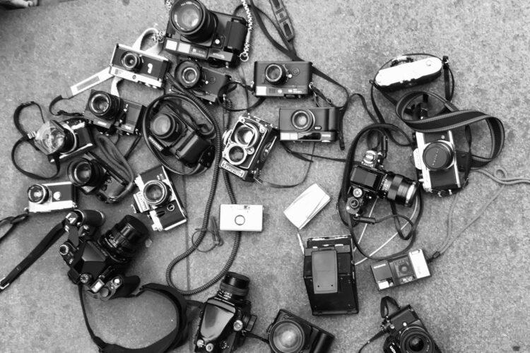 Analog Cameras: Leica Rolleiflex Pentax